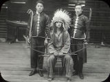 Three Students in Traditional Garb (1917)