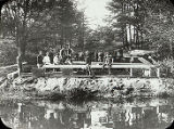 Students Build the Foundation for Gladden Boathouse (1900)