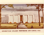 A Sketch of the Fuller Art Center at Springfield College