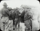 Max Exner with Soldiers