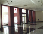 The Renovated lobby in the Fuller Arts Center at Springfield College, 2009