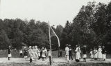 Volleyball in Ashfield (1916)