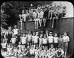 Group at North End Municipal Swimming Pool