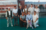 The 1975 Softball Team Reunion with Coach Diane Potter in 2000 at Springfield College