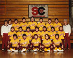 Softball Team Photo Taken during the 100 Anniversary of Springfield College, 1985