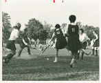 Springfield College Field Hockey Team Playing a Competition, 1968