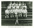 Team Photo of Springfield College Field Hockey Team in 1974