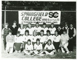 1984-1985 Team Photo of Springfield College Field Hockey Team