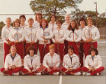 Springfield College Women's Tennis Team Photo, 1980