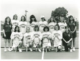 Team Photo of Springfield College Women's Tennis Team, 1992