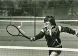 Stephanie Travers Playing Tennis (1985)
