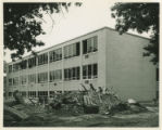 Schoo-Bemis Science Center construction,  c. 1961