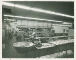 The Kitchen in Cheney Dining Hall, c. 1974