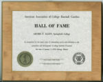 Archie Allen's AACBC Hall of Fame Award (January 7, 1973)