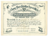 Joseph Goodhue's Indoor Test Certificate (April 29, 1896)