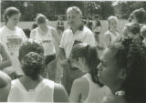 Women's Cross Country Team Huddle (1995)