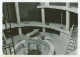 Hickory Hall Construction Inside Buidling c. 1974-1975