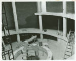 Hickory Hall Construction Inside Buidling (Enlarged) c. 1974-1975