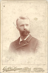 Luther Halsey Gulick Cabinet Card