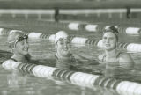 Springfield College Women's Swimmers in Lane (c. 1997-1998)