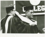 Matthew Joseph Receives Honorary Degree (June 14, 1964)