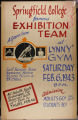 SC Gymnastics Exhibition Team Poster, Lynn YMCA (February 6, 1943)