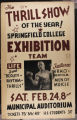 SC Gymnastics Exhibition Team Poster, Municipal Auditorium