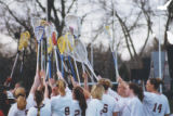 Springfield College Women's Lacrosse:Sticks in the Air