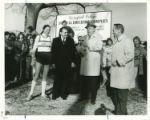 Physical Education Complex Groundbreaking Ceremony- Presenting of Building Permit c. 1980