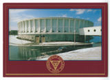 Physical Education Complex Postcard with Springfield College Seal