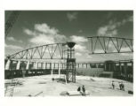Construction of Blake Arena dome