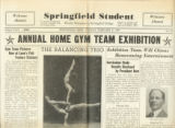Springfield Student Newspaper Clipping, February 21, 1939