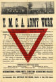 YMCA Army Work Intensive Training Poster (c. 1917)