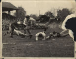 Don Conway Runs 18 Yards Against the University of Massachusetts, 1949
