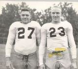 Football Players Norman Morris and Harold Kenyon, 1955-1956