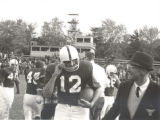 Quarterback Dave Bennett and Head Coach Ted Dunn, 1965