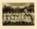 1936 Springfield College Men's Lacrosse, New England Intercollegiate Champions