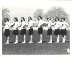 1967-1968 Springfield College Cheerleading Team