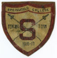 1916-1917 Springfield College Fencing Badge