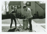 Raking during Work Week (April 1969)