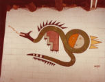Wo Peen's Painting of the Sacred Flying Water Serpent