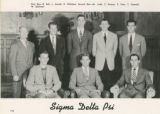 Sigma Delta Psi Yearbook Photograph