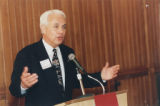 Bob Hoffman Speaking at 1998 Tarbell Award Dinner