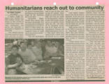 Newspaper Article, Humanics in Action Day (2005)