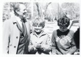 Art Linkletter at car wash fundraiser (1964)