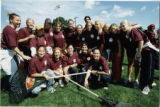 Group of students on Humanics in Action Day (1998)