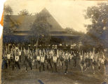 Gymnastics Competition, calisthentics, c. 1915