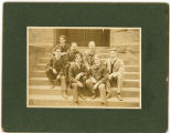 Springfield College students with Laurence Locke Doggett, c. 1903
