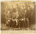 Dakota YMCA group photograph, 1887