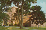 Postcard of Judd Gymnasium
